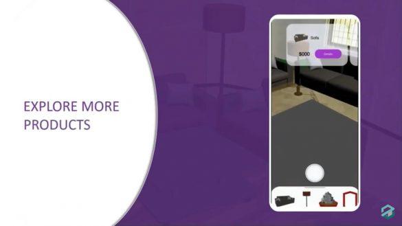 AR in interior designing